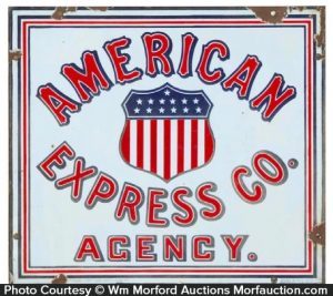American Express Agency Sign