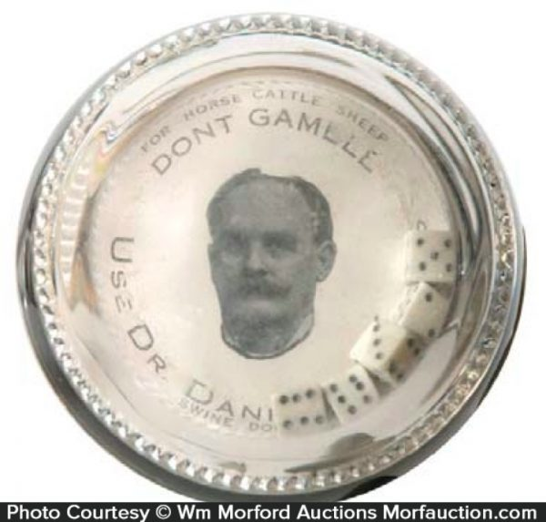 Dr. Daniels Dice Paperweight