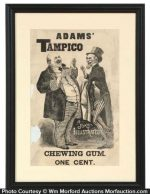 Adams' Tampico Gum Sign