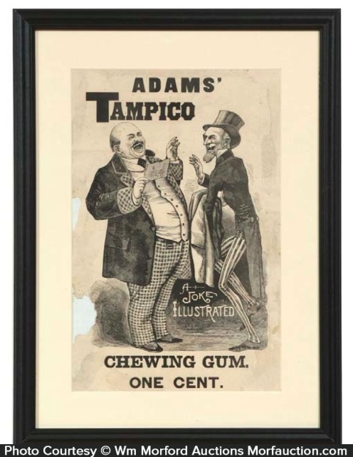 Adams' Tampico Gum Sign