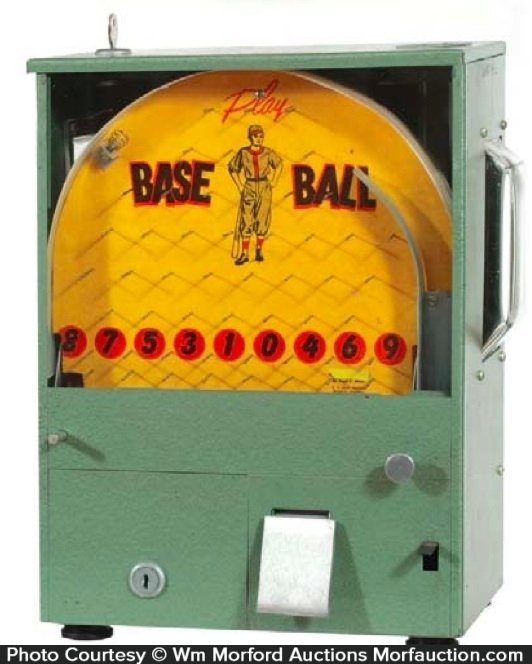 Baseball Gum Vendor