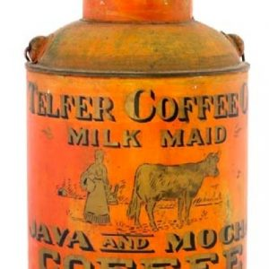 Telfer Milk Maid Coffee Pail