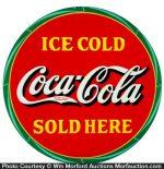 Ice Cold Coca Cola Sign