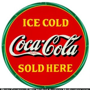 Ice Cold Coca Cola Sign