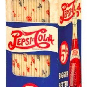 Pepsi Straws Box