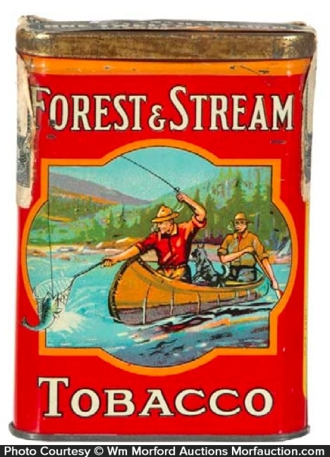 Forest & Stream Tobacco Tin