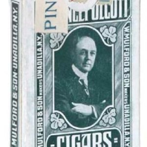 Olcott Cigars Playing Cards