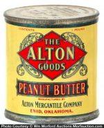 Alton Peanut Butter Tin