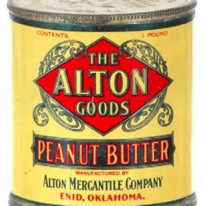 Alton Peanut Butter Tin