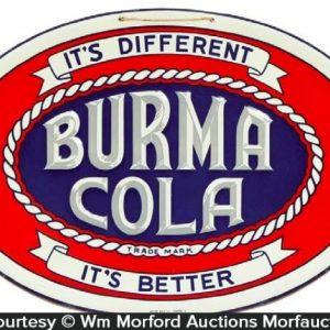 Burma Cola Sign