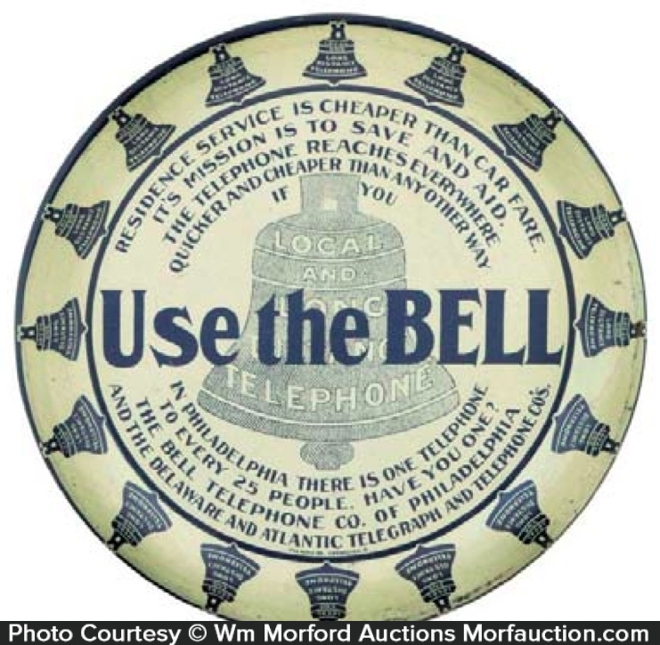 Use The Bell Tip Tray