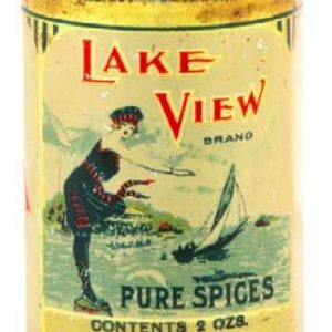 Lake View Spice Tin