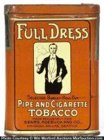 Full Dress Tobacco Tin