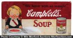 Campbell's Soup Original Artwork Sign