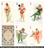 Hard A Port Tobacco Playing Cards