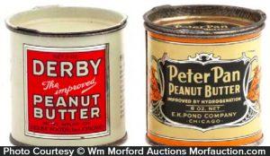 Vintage Peanut Butter Sample Tins