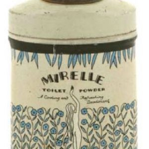 Mirelle Toilet Powder Sample Tin
