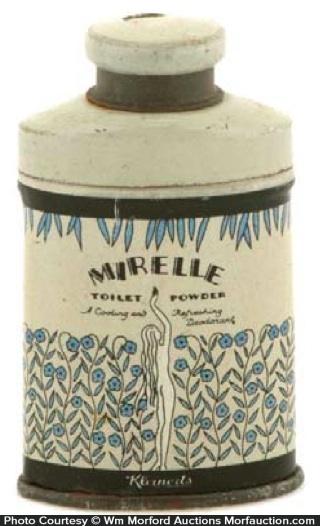 Mirelle Toilet Powder Sample Tin
