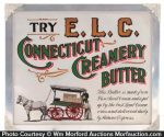 Connecticut Creamery Butter Sign