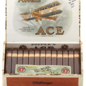 Popper's Ace Cigar Display Box