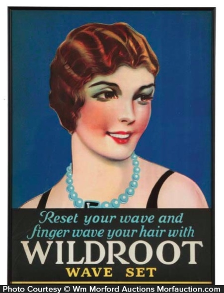 Wildroot Wave Set Sign