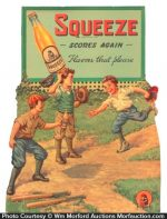 Squeeze Soda Sign