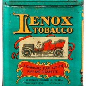 Lenox Tobacco Tin