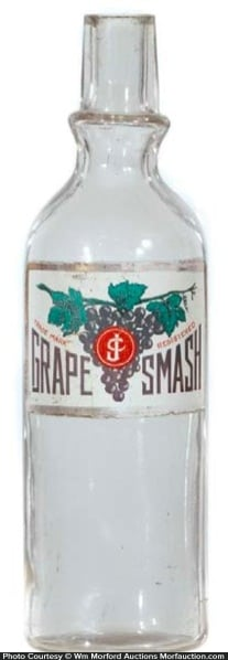Grape Smash Syrup Bottle