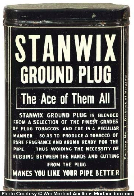 Stanwix Tobacco Pocket Tin