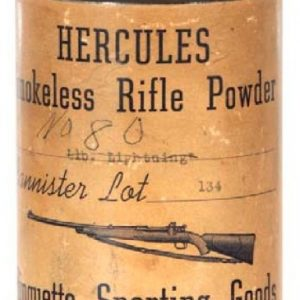 Hercules Rifle Powder Tin