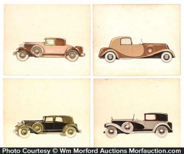 Original Automobile Artwork