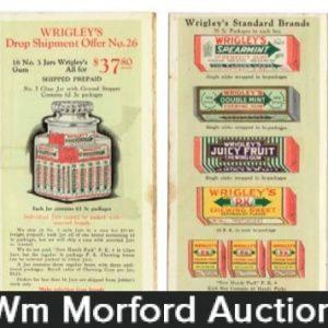 Wrigley's Gum Catalog