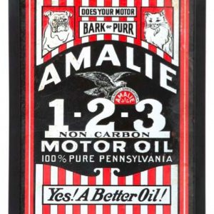 Amalie Motor Oil Sign