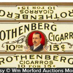 Rothenberg Cigars Box Label