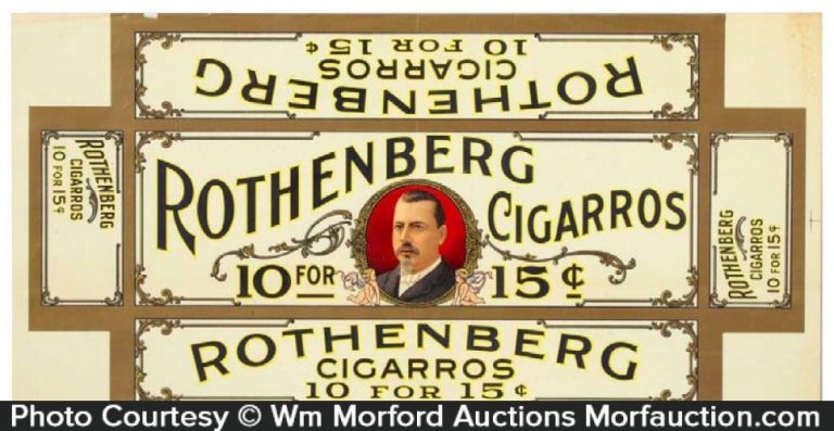 Rothenberg Cigars Box Label
