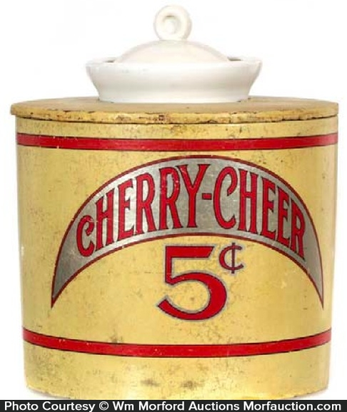 Cherry Cheer Syrup Dispenser