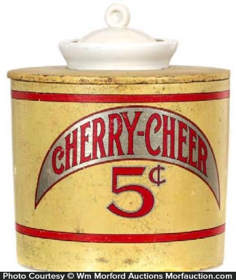 Cherry Cheer Syrup Dispenser