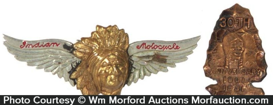 Indian Motorcycles Pins