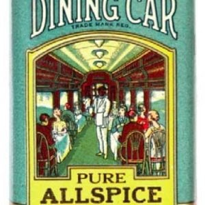 Dining Car Spice Tin