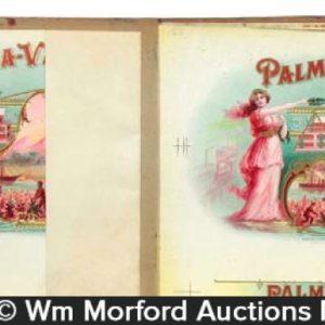 Palma Vana Cigars Proofing Book