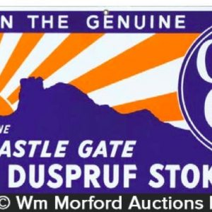 Castle Gate Coal Sign