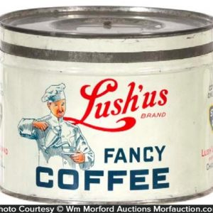 Lush'Us Coffee Can