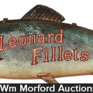 Leonard Fillets Fish Sign
