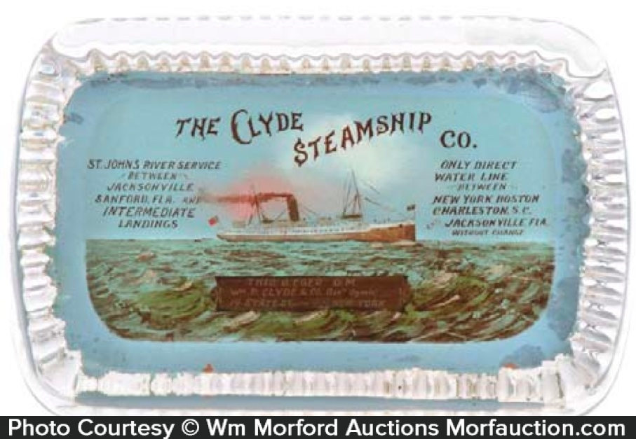 Clyde Steamships Paperweight