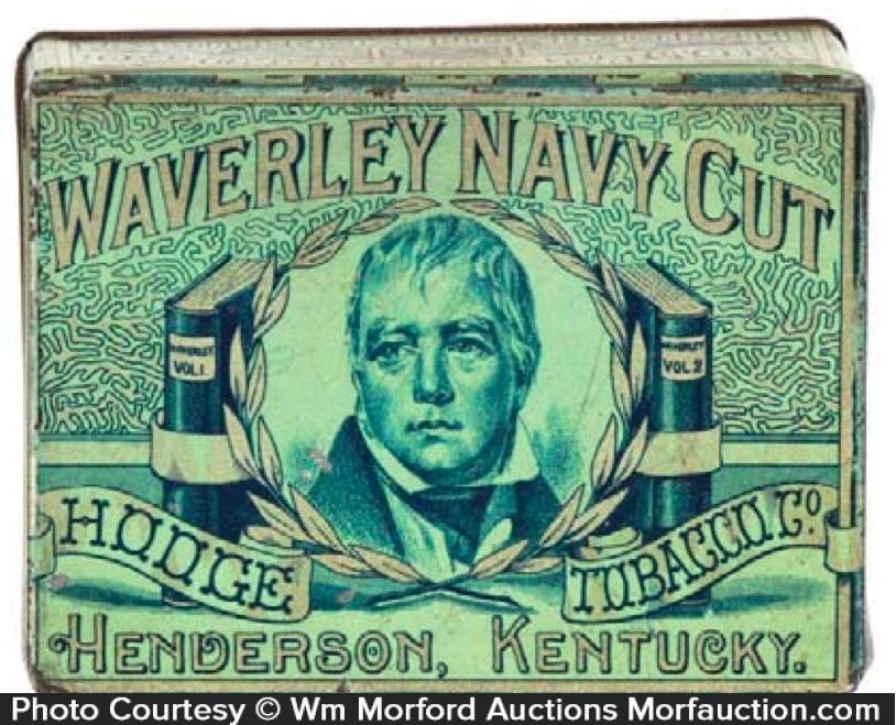 Waverley Navy Cut Tobacco Tin
