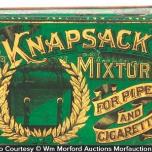 Knapsack Mixture Tobacco Tin