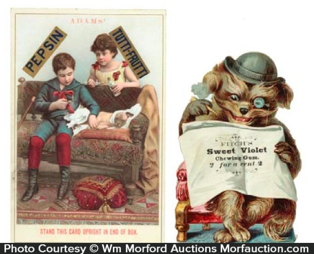 Vintage Gum Trade Cards