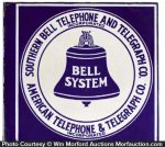 Southern Bell Telephone Sign