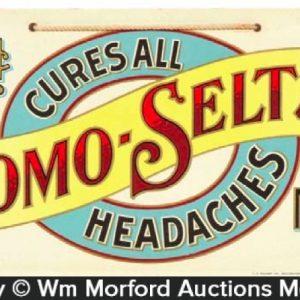 Bromo-Seltzer Headache Cure Sign
