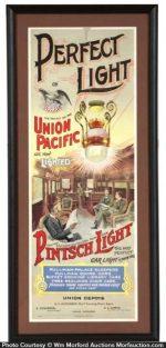 Pintsch Light Union Pacific Sign